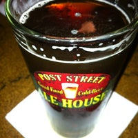 Photo taken at Post Street Ale House by Travis F. on 6/8/2012