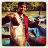 Photo taken at Pulau Ketam Kelong by ♭Ξ ℳ♭Ξ Ƙ ™. on 7/29/2012