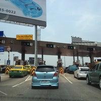 Photo taken at Si Rat Expressway Sector C by Piyada C. on 4/23/2012