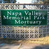 Photo taken at Napa Valley Memorial Park by Felica A. on 3/9/2012