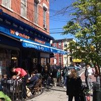 Photo taken at Wonder Bagels by Markus B. on 4/7/2012