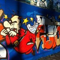 Photo taken at Graffiti Wand by Maríus M. on 8/27/2012