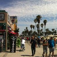 Photo taken at Venice Beach Boardwalk by Paul C. on 8/1/2012