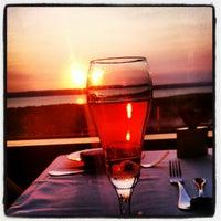 Photo taken at Aerie Restaurant & Lounge by Samantha B. on 9/3/2012