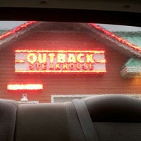 Photo taken at Outback Steakhouse by Heather V. on 6/1/2012