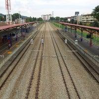 Photo taken at KTM Line - Serdang Station (KB05) by Amin Jamain M. on 7/21/2012