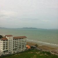 Photo taken at Sigma Resort Jomtien Pattaya by Pawares P. on 6/3/2012