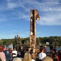 Photo taken at Riverfront Park by Joanna on 9/11/2012