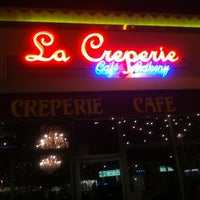 Photo taken at La Creperie Cafe by David R. on 5/5/2012