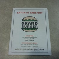 Photo taken at Grand Burger by Michael M. on 6/7/2012