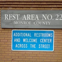 Photo taken at Monroe County Rest Area No. 22 by Nissim T. on 4/16/2012