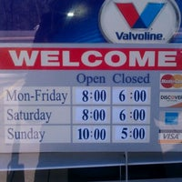 Photo taken at Mobil 1 Car Care Center by Q D. on 2/26/2012