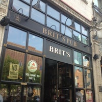 Photo taken at Brit's Pub & Eating Establishment by Rifa C. on 5/22/2012