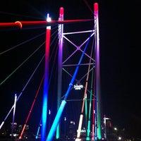 Снимок сделан в Nelson Mandela Bridge пользователем Timmee 3/25/2012