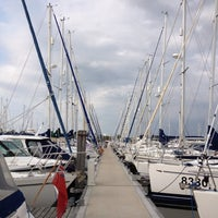 Photo taken at Lymington Yacht Haven by Jane L. on 7/27/2012