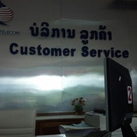Photo taken at Lao Telecom Office by Tung F. on 7/23/2012