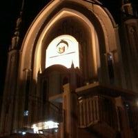 Photo taken at Iglesia Ni Cristo (Locale Congregation of Batasan Hills) by iampatburmen 이. on 8/4/2012