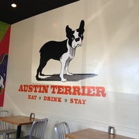 Photo taken at Austin Terrier by Dylan S. on 3/26/2012