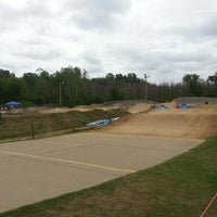 Photo taken at St Peters BMX Track by George V. on 8/26/2012