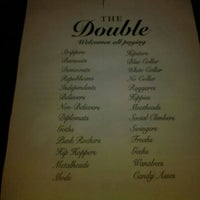 Photo taken at The Double: An Urban Tavern by Shawn G. on 2/16/2012