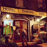 Photo taken at Tabard Inn by Simon B. on 5/4/2012