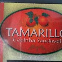 Photo taken at Tamarillo Cozinha Saudável by Bianca D. on 7/26/2012