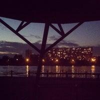 Снимок сделан в Братеевский каскадный парк пользователем Ольга Ж. 8/21/2012