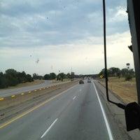 Photo taken at Megabus Stop by Ryan P. on 7/13/2012