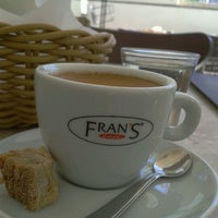 Photo taken at Fran's Café by Laura M. on 8/3/2012