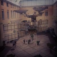 Снимок сделан в Центральный музей связи им. А. С. Попова пользователем Leo M. 7/10/2012