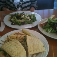 Photo taken at Panini's Cafe by Jeff W. on 4/18/2012