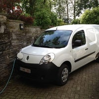 Photo taken at ThePluginCompany - Public Charging Point for Electric Cars by Hubert A. on 6/22/2012