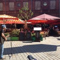 Das Foto wurde bei Hackescher Markt von SandyInBerlin am 5/20/2012 aufgenommen