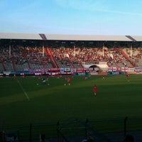 Photo taken at Bosuilstadion by Raymond G. on 8/23/2012