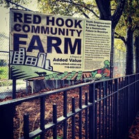 Photo taken at Red Hook Community Farm by David M. on 9/8/2012