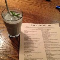 Photo taken at Café Gratitude by Morgan C. on 6/6/2012