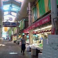 Photo taken at Omicho Market by Ikehan3 on 8/9/2012