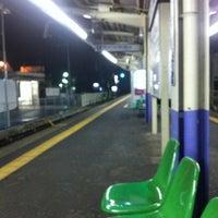 Photo taken at Keisei Yawata Station (KS16) by tetsuya h. on 3/17/2012