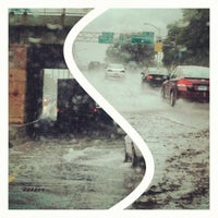 Photo taken at Long Island Expressway (LIE) (I-495) by Alex T. on 8/1/2012