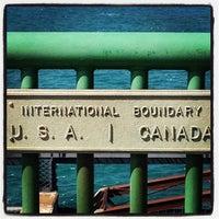 Photo taken at Sault Sainte Marie International Bridge by Nathan S. on 8/30/2012