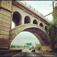 Photo taken at Schuylkill Expressway by Sarah D. on 5/5/2012