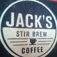 Photo taken at Jack's Stir Brew Coffee by Fred W. on 8/25/2012