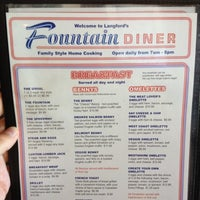 Photo taken at Fountain Diner by Davide O. on 6/24/2012