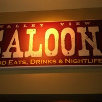 Photo taken at Valley View Saloon by Peter P. on 3/18/2012