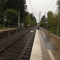 Photo taken at TriMet NW Civic Drive MAX Station by Paul A. on 5/3/2012