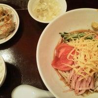 Photo taken at 餃子屋台 by Kz K. on 5/10/2012