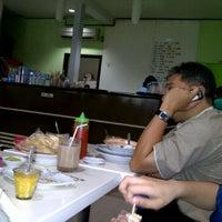 Photo taken at Depot Surya 88 (Warung Kopi) by ZaQy on 3/4/2012
