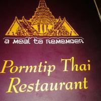 Photo taken at Pormtip Thai BBQ Seafood Restaurant by Lynda M. on 2/14/2012