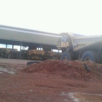 Photo taken at PT.United Tractors Site Bendili KPCS by Mhoko 2. on 4/24/2012