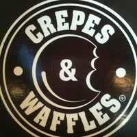 Photo taken at Crepes & Waffles by Hector P. on 2/11/2012